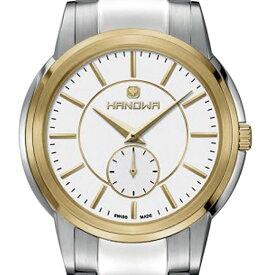 fb84c825979f 【残り1点】HANOWA ハノワ クォーツ 腕時計 スイス シンプル ファッション [16-5038.04