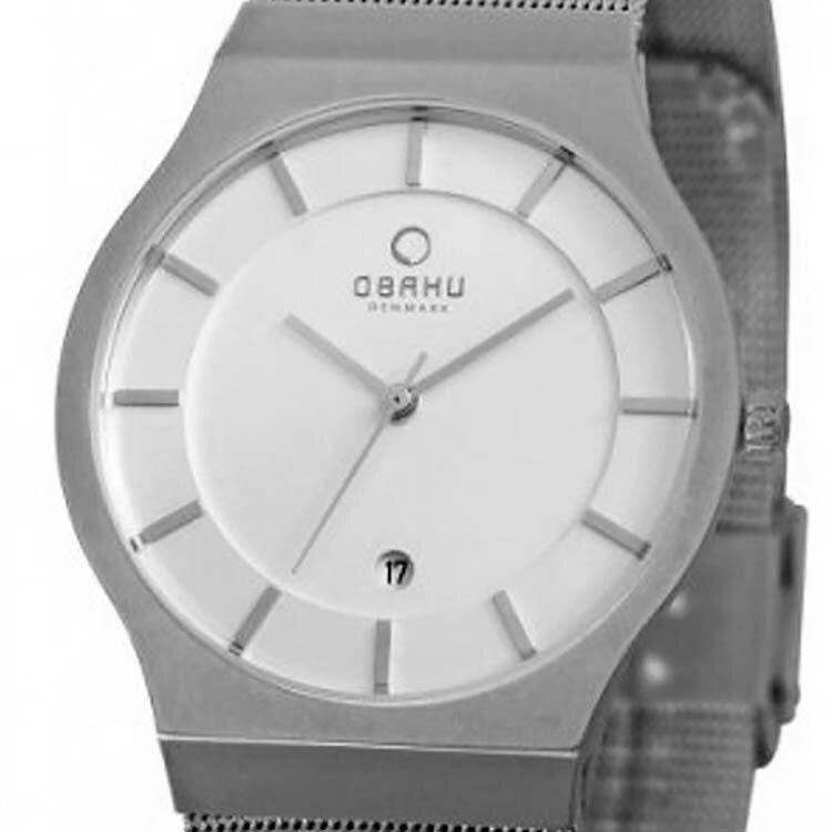 【ポイント10倍】【残り1点】OBAKU オバック クォーツ 腕時計 デンマーク シンプル 薄型 ファッション [V123GCIMC] 並行輸入品 純正ケース メーカー保証