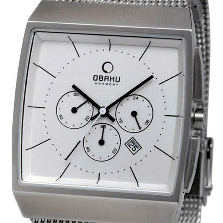 【ポイント10倍】【残り1点】OBAKU オバック クォーツ 腕時計 デンマーク シンプル 薄型 ファッション [V126GCIMC] 並行輸入品 純正ケース メーカー保証