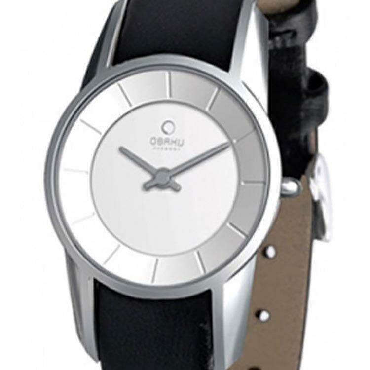 【ポイント10倍】【残り1点】OBAKU オバック クォーツ 腕時計 デンマーク シンプル 薄型 ファッション [V130LCIRB] 並行輸入品 純正ケース メーカー保証