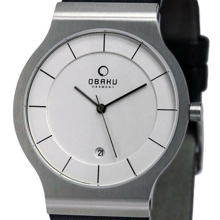【ポイント10倍】OBAKU オバック クォーツ 腕時計 デンマーク シンプル 薄型 ファッション [V133GCIRB] 並行輸入品 純正ケース メーカー保証