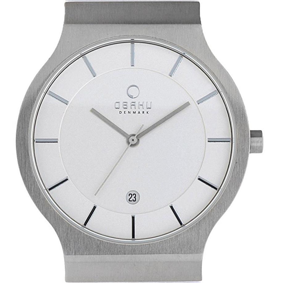 【ポイント10倍】【残り1点】OBAKU オバック クォーツ 腕時計 デンマーク シンプル 薄型 ファッション [V133GCIRW1] 並行輸入品 純正ケース メーカー保証