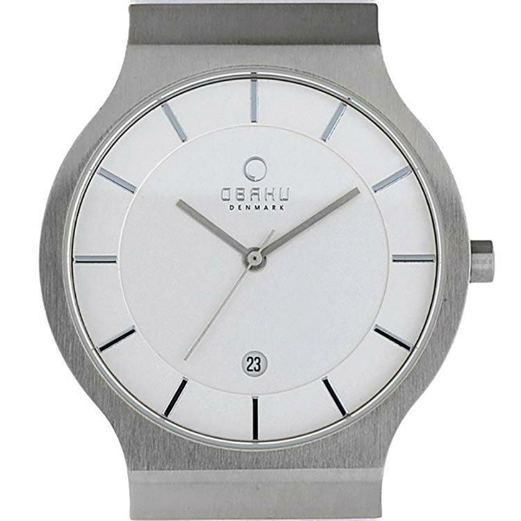 【ポイント10倍】OBAKU オバック クォーツ 腕時計 デンマーク シンプル 薄型 ファッション [V133GCIRW] 並行輸入品 純正ケース メーカー保証