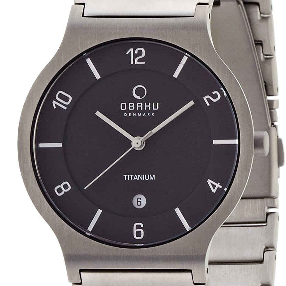 【ポイント10倍】【残り1点】OBAKU オバック クォーツ 腕時計 デンマーク シンプル 薄型 ファッション [V133GTBST1] 並行輸入品 純正ケース メーカー保証