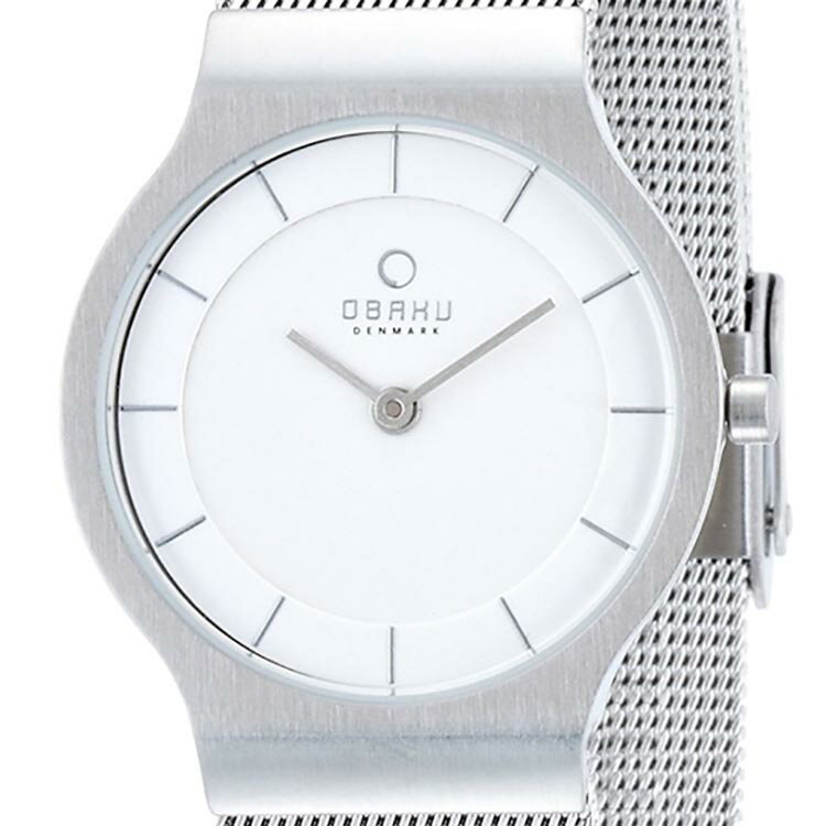 【ポイント10倍】OBAKU オバック クォーツ 腕時計 デンマーク シンプル 薄型 ファッション [V133LCIMC2] 並行輸入品 純正ケース メーカー保証