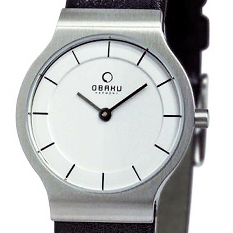 【ポイント10倍】【残り1点】OBAKU オバック クォーツ 腕時計 デンマーク シンプル 薄型 ファッション [V133LCIRB1] 並行輸入品 純正ケース メーカー保証