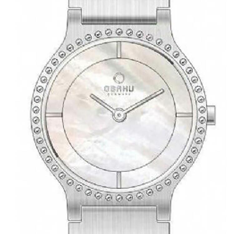 【ポイント10倍】【残り1点】OBAKU オバック クォーツ 腕時計 デンマーク シンプル 薄型 ファッション [V133LCWSC3] 並行輸入品 純正ケース メーカー保証