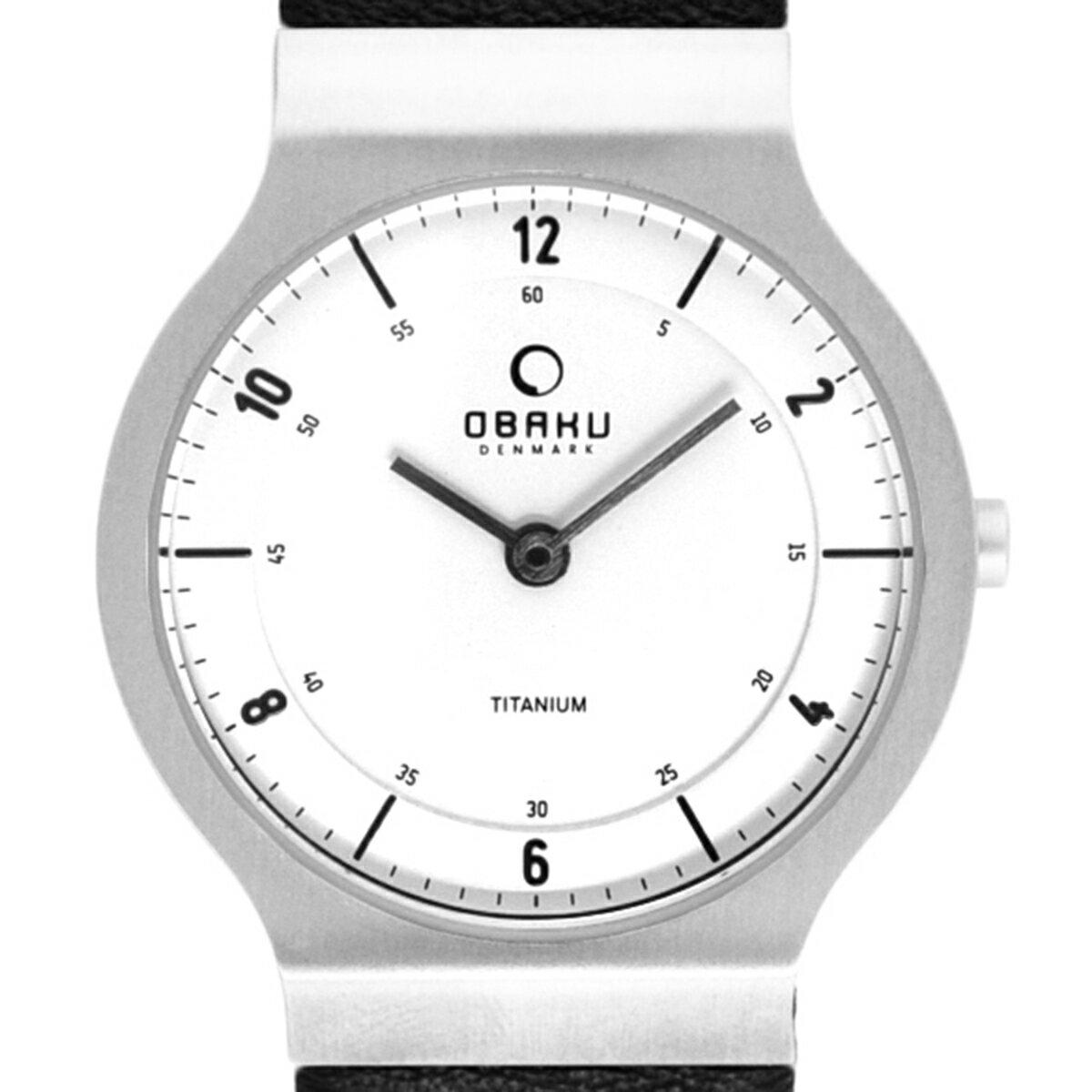 【ポイント10倍】【残り1点】OBAKU オバック クォーツ 腕時計 デンマーク シンプル 薄型 ファッション [V133LTIRB] 並行輸入品 純正ケース メーカー保証