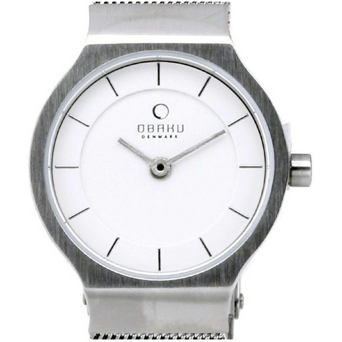 【ポイント10倍】OBAKU オバック クォーツ 腕時計 デンマーク シンプル 薄型 ファッション [V133SCIMC] 並行輸入品 純正ケース メーカー保証