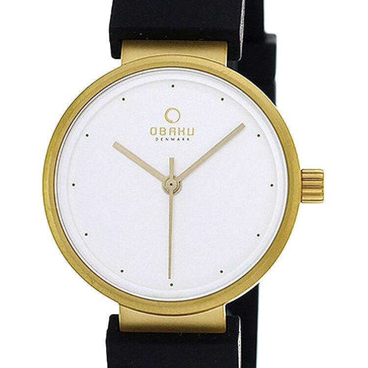 【ポイント10倍】OBAKU オバック クォーツ 腕時計 デンマーク シンプル 薄型 ファッション [V138LGCXB] 並行輸入品 純正ケース メーカー保証