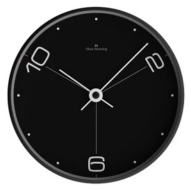 Oliver Hemming オリバー・ヘミング 壁掛け時計 インテリア Simplex シンプレックス 300mm [W300B14BTW] 北欧 正規品