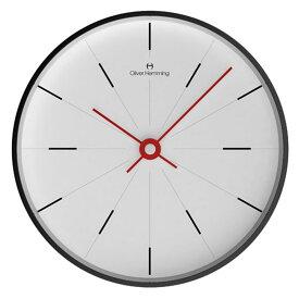 Oliver Hemming オリバー・ヘミング 壁掛け時計 インテリア Simplex シンプレックス 300mm [W300B2WTR] 北欧 正規品