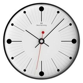 Oliver Hemming オリバー・ヘミング 壁掛け時計 インテリア Simplex シンプレックス [W300B6WTB] 北欧 正規品