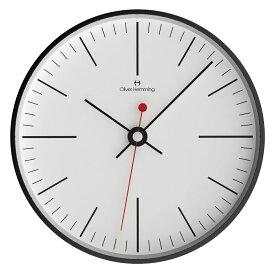Oliver Hemming オリバー・ヘミング 壁掛け時計 インテリア Simplex シンプレックス [W300B8WTB] 北欧 正規品