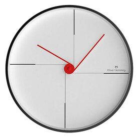 Oliver Hemming オリバー・ヘミング 壁掛け時計 インテリア Simplex シンプレックス 300mm [W300B9W] 北欧 正規品