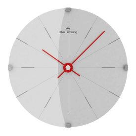 Oliver Hemming オリバー・ヘミング 壁掛け時計 インテリア Simplex シンプレックス 300mm [W300DG2WTR] 北欧 正規品
