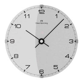 Oliver Hemming オリバー・ヘミング 壁掛け時計 インテリア Simplex シンプレックス 300mm [W300DG5WTB] 北欧 正規品