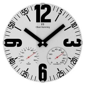 Oliver Hemming オリバーヘミング 壁掛け時計 インテリア [W300DG65W] 北欧 正規品