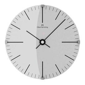 Oliver Hemming オリバー・ヘミング 壁掛け時計 インテリア Simplex シンプレックス 300mm [W300DG8WTB] 北欧 正規品