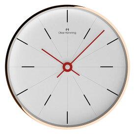 Oliver Hemming オリバー・ヘミング 壁掛け時計 インテリア Simplex シンプレックス 300mm [W300R2WTR] 北欧 正規品