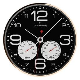 Oliver Hemming オリバー・ヘミング 壁掛け時計 インテリア Simplex Weather Station シンプレックス ウェザーステーション 300mm [W300R51BWTW] 北欧 正規品