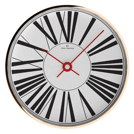 Oliver Hemming オリバー・ヘミング 壁掛け時計 インテリア Simplex シンプレックス 300mm [W300R53WTR] 北欧 正規品