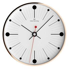Oliver Hemming オリバー・ヘミング 壁掛け時計 インテリア Simplex シンプレックス 300mm [W300R6WTB] 北欧 正規品