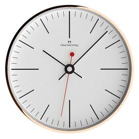 Oliver Hemming オリバー・ヘミング 壁掛け時計 インテリア Simplex シンプレックス [W300R8WTB] 北欧 正規品