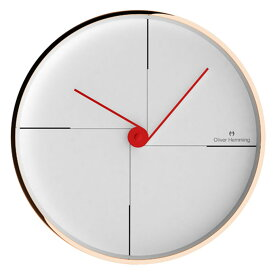 Oliver Hemming オリバー・ヘミング 壁掛け時計 インテリア Simplex シンプレックス 300mm [W300R9W] 北欧 正規品