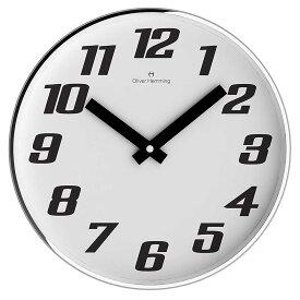 Oliver Hemming オリバーヘミング 壁掛け時計 インテリア [W300S41W] 北欧 正規品