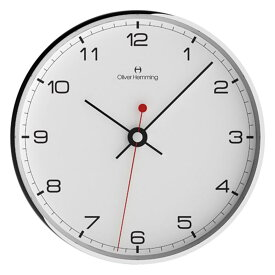 Oliver Hemming オリバー・ヘミング 壁掛け時計 インテリア Simplex シンプレックス 300mm [W300S5WTB] 北欧 正規品