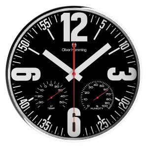 OliverHemmingオリバー・ヘミング壁掛け時計[W300S65B]海外製並行輸入品