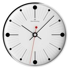 Oliver Hemming オリバー・ヘミング 壁掛け時計 インテリア Simplex シンプレックス 300mm [W300S6WTB] 北欧 正規品