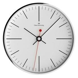 Oliver Hemming オリバー・ヘミング 壁掛け時計 インテリア Simplex シンプレックス 300mm [W300S8WTB] 北欧 正規品