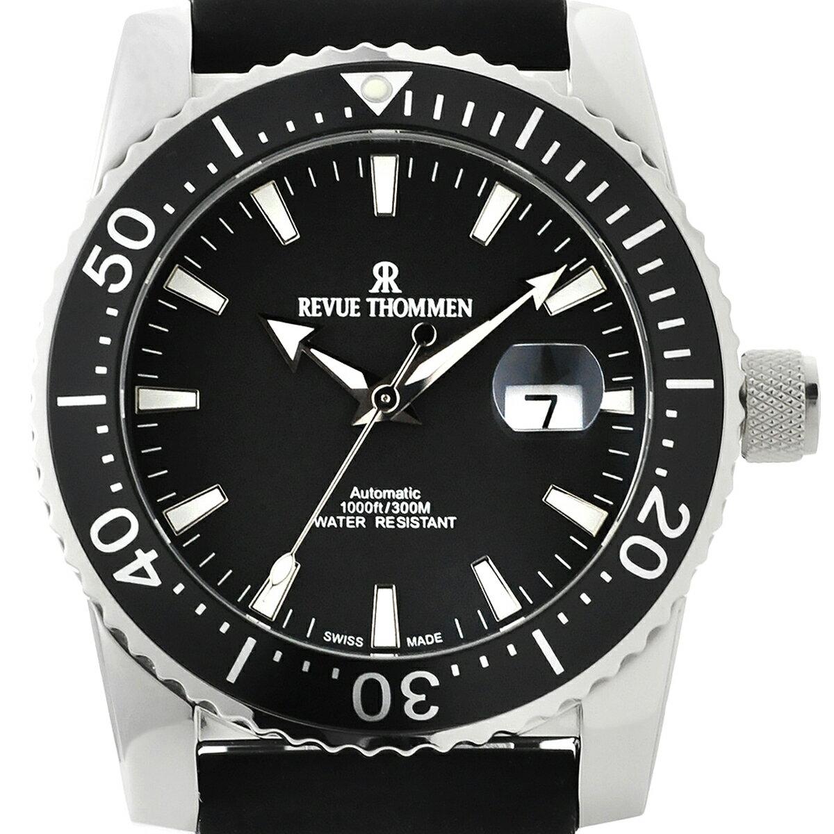 Revue Thommen レビュートーメン 自動巻き(手巻き機能あり) 腕時計 [17030-2537] 並行輸入品 デイト 逆回転防止ベゼル ダイバーズ