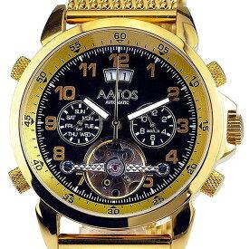 【残り1点】MZI エムゼーアイ 自動巻き 腕時計 メンズ [TIOSGGB] 並行輸入品【訳アリ価格:メーカー保証なし】