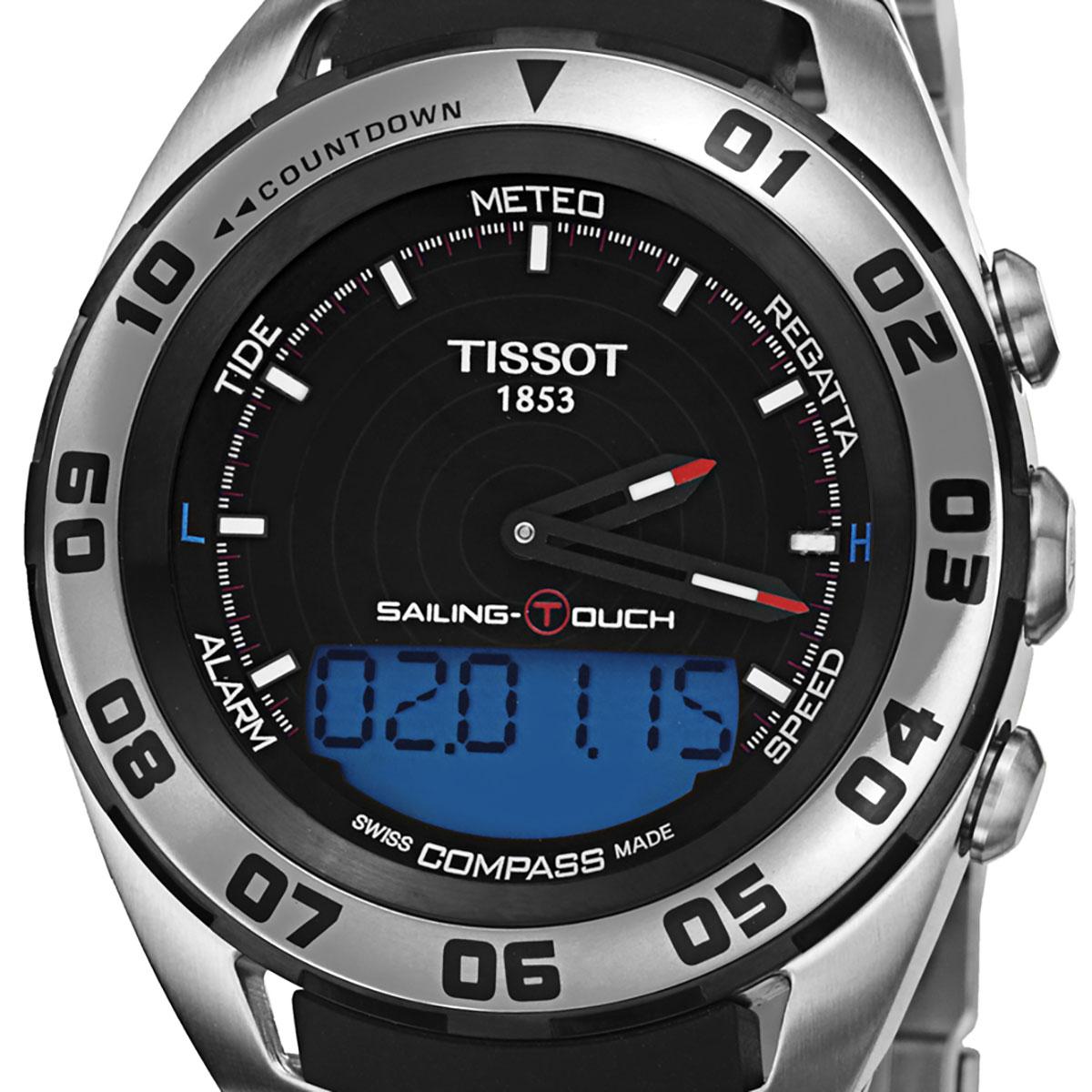 【残り1点】TISSOT ティソ 電池式クォーツ 腕時計 [T056-420-21-051-00] 並行輸入品 ブラック(黒)
