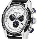 Versace ヴェルサーチ 電池式クォーツ 腕時計 [VDB01-0014] 並行輸入品 ホワイト(白)
