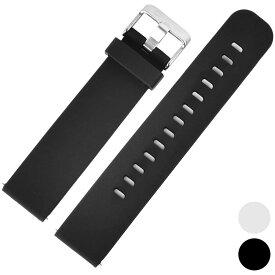 [ZEROO] 腕時計用 ラバーベルト 正規品 汎用品 取付幅:20mm [ZEROO] (尾錠)ピンバックル付き [ZRB001]