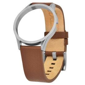 ZEROO ゼロ 腕時計 交換用 レザーベルト [LS08]
