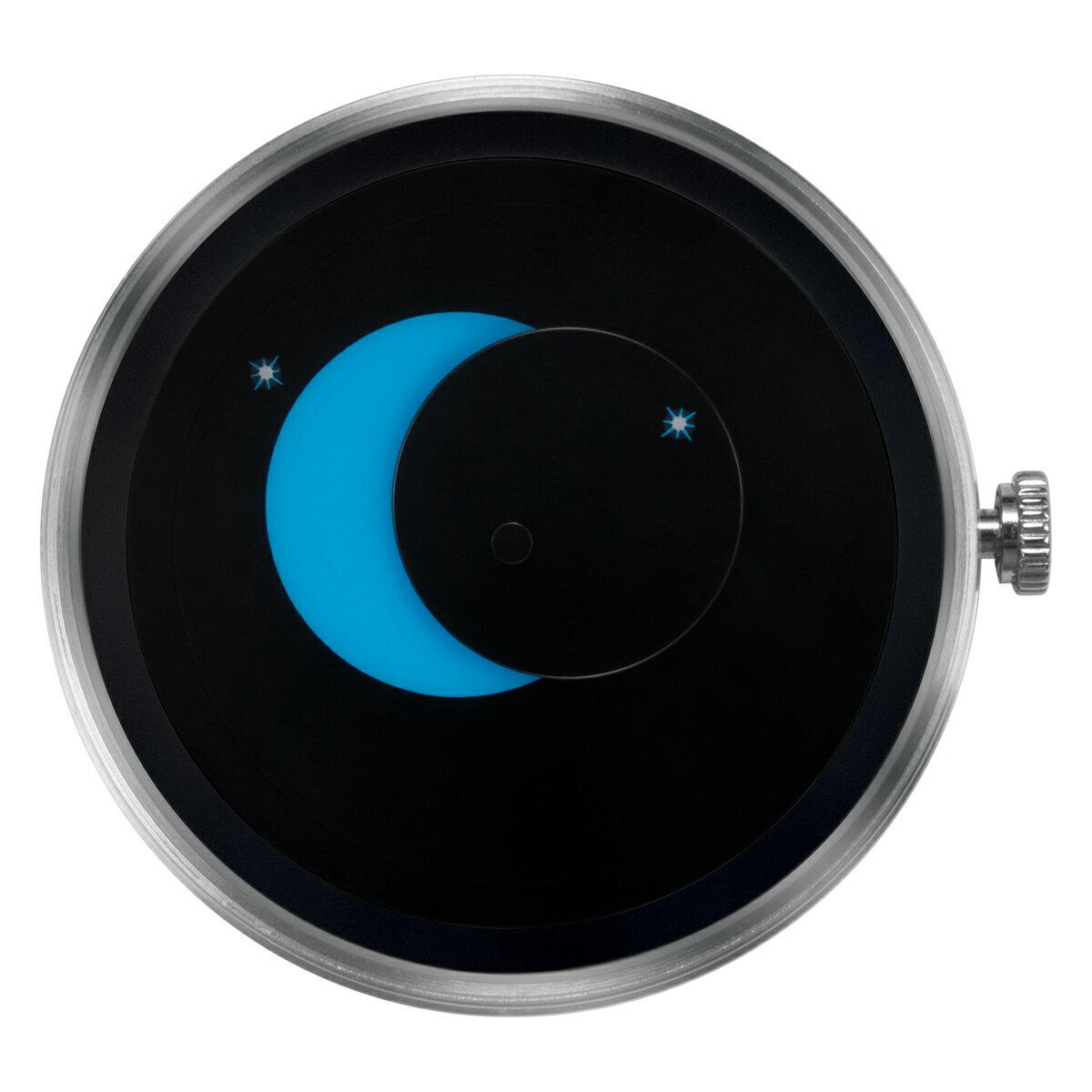 ZEROO 交換用クロックボディ ZEROO SUPER MOON ゼロ 電池式クォーツ 腕時計 [M02006]