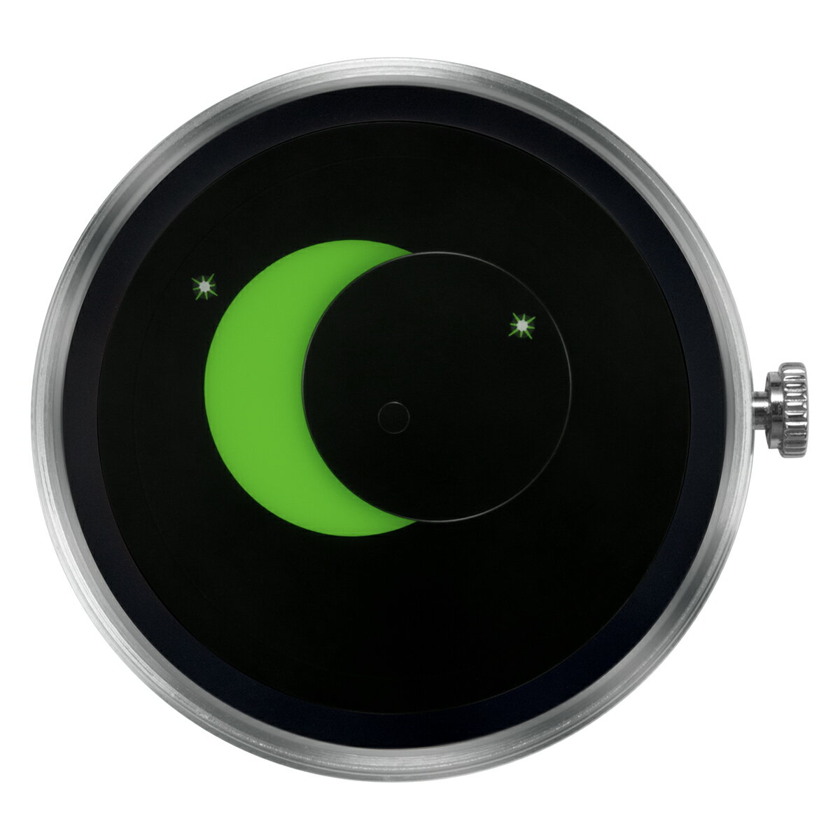 ZEROO 交換用クロックボディ ZEROO SUPER MOON ゼロ 電池式クォーツ 腕時計 [M02008]