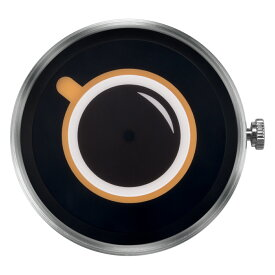 ZEROO 交換用クロックボディ ZEROO COFFEE TIME ゼロ 電池式クォーツ 腕時計 [M03009]