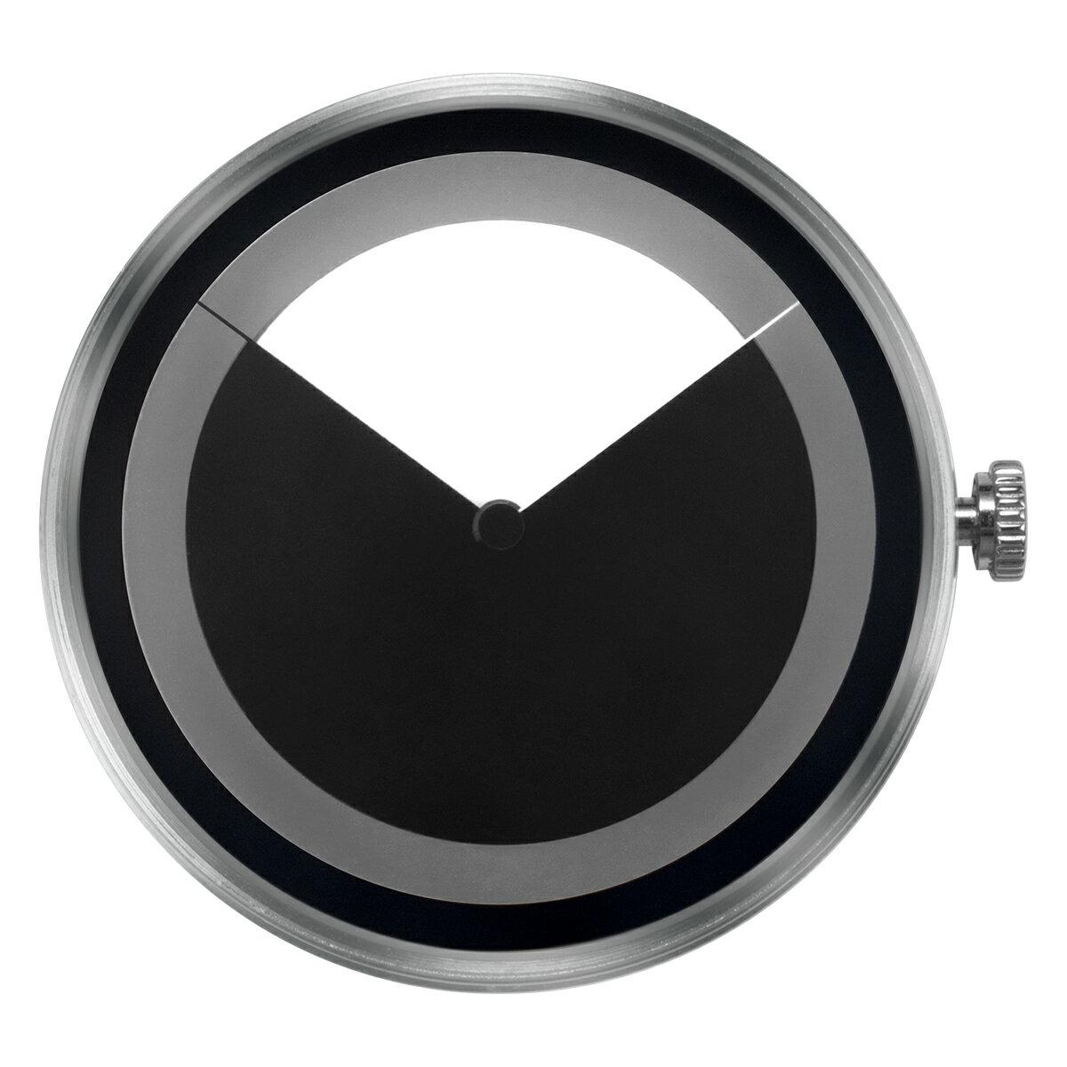 ZEROO 交換用クロックボディ ZEROO DEEPSKY SWEEPING ゼロ 電池式クォーツ 腕時計 [M04012]