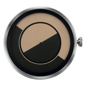 ZEROO 交換用クロックボディ ZEROO QUARTER MOON ゼロ 電池式クォーツ 腕時計 [M08033]