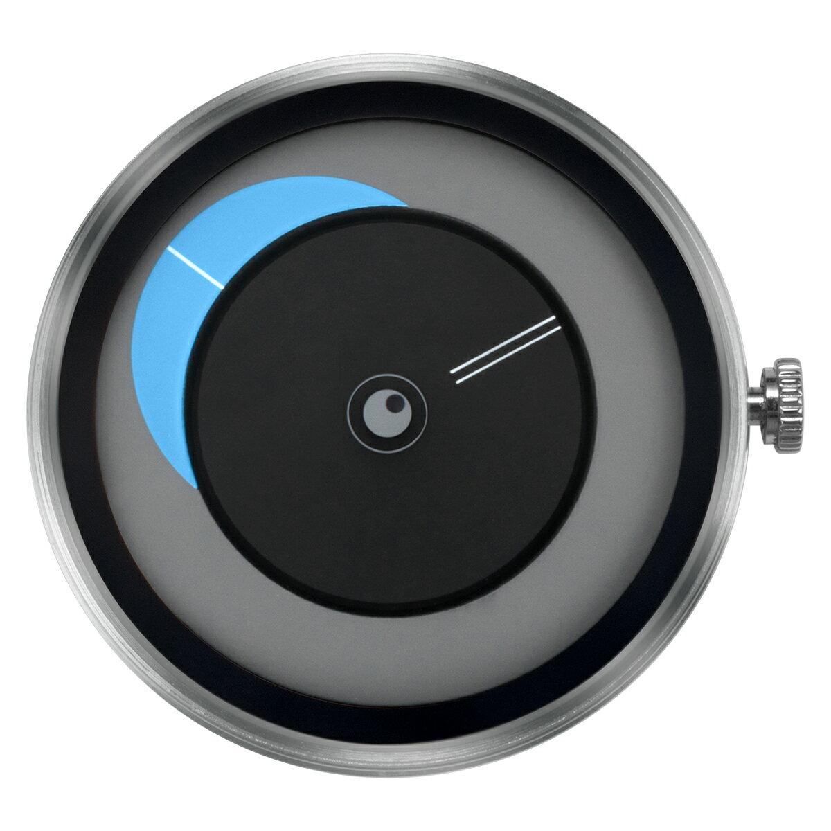 ZEROO 交換用クロックボディ ZEROO CRESCENT MOON ゼロ 電池式クォーツ 腕時計 [M09036]