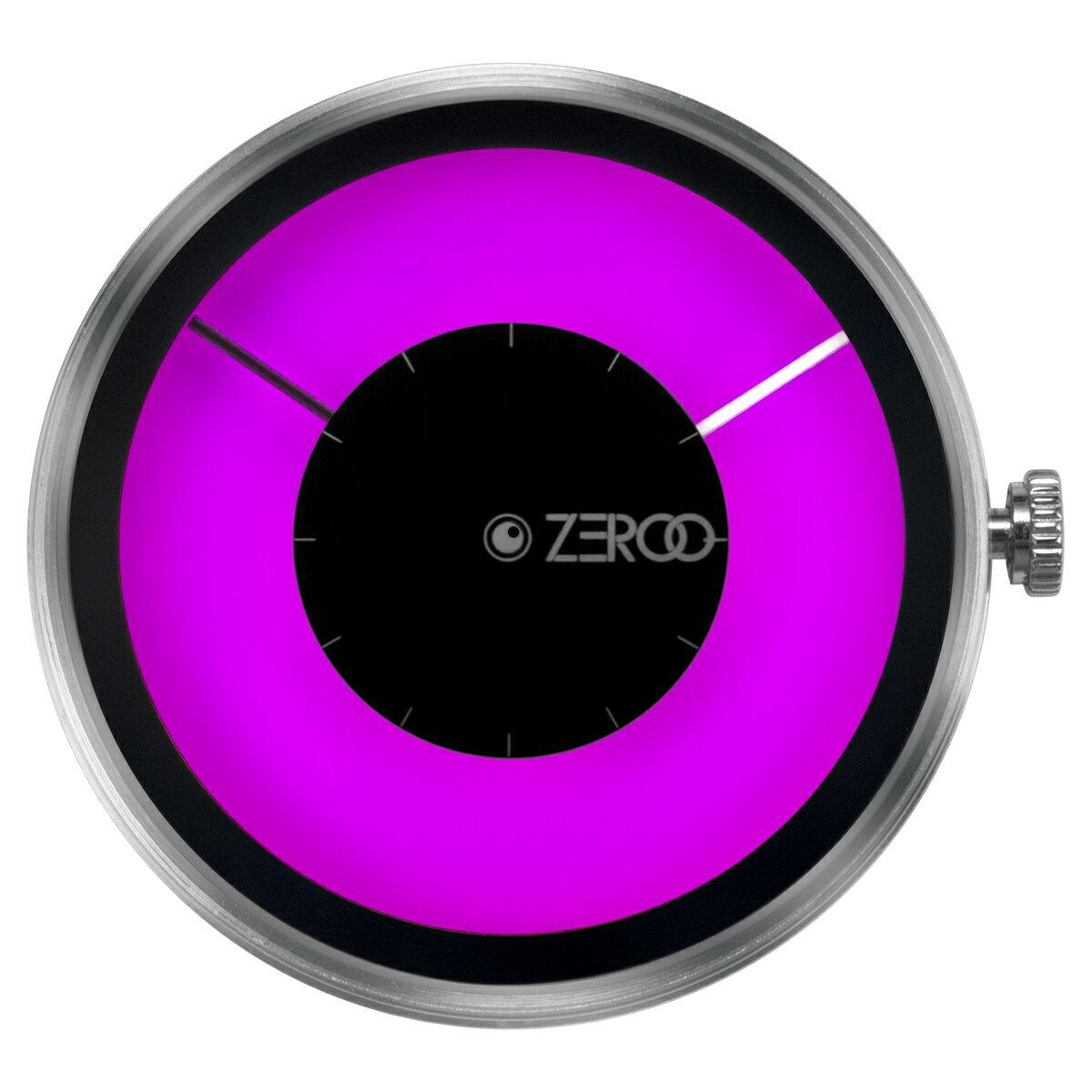 ZEROO 交換用クロックボディ ZEROO MAGIA AURORA ゼロ 電池式クォーツ 腕時計 [M11025]