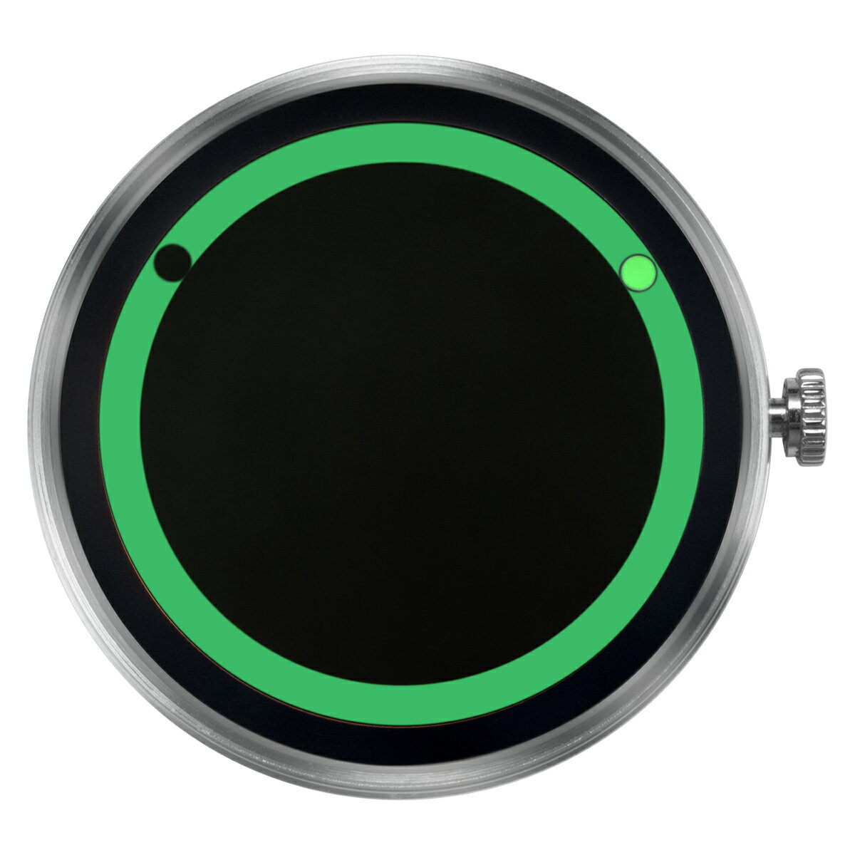 ZEROO 交換用クロックボディ ZEROO PLANET ECLIPSE ゼロ 電池式クォーツ 腕時計 [M13028]