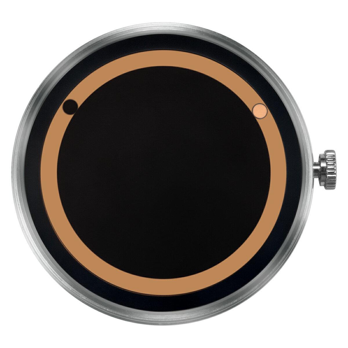 ZEROO 交換用クロックボディ ZEROO PLANET ECLIPSE ゼロ 電池式クォーツ 腕時計 [M13029]