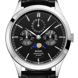 ZEROO ゼロ 電池式クォーツ 腕時計 [ZC001SBK] 並行輸入品 ムーンフェイズ カレンダー